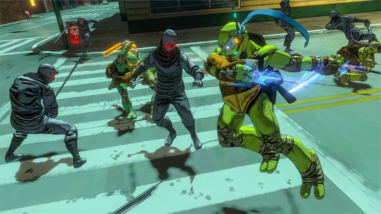 《忍者神龟:曼哈顿突变》免安装简体中文绿色硬盘版下载
