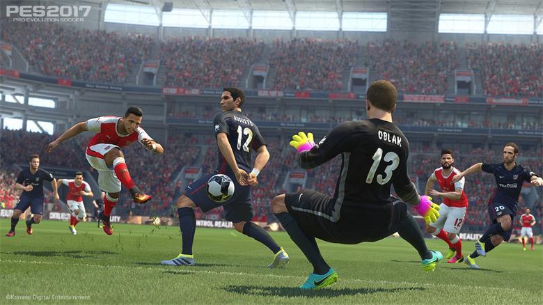 《实况足球2017》PES2017免安装简体中文绿色硬盘版下载