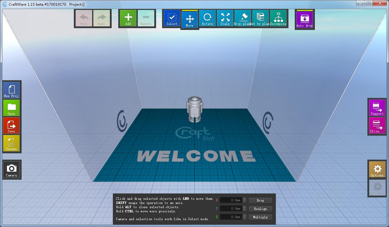 CraftWare(3D打印切片软件)官方免费版下载