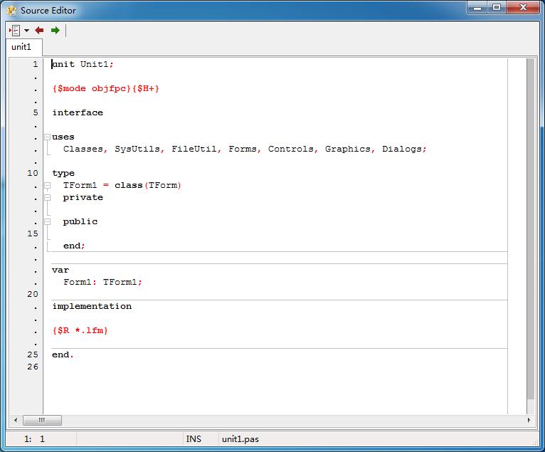 Lazarus IDE(Pascal集成开发环境)官方最新32位/64位中文版下载