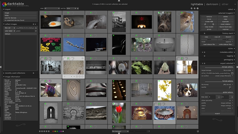 Darktable(数字摄影暗房软件)免费版下载