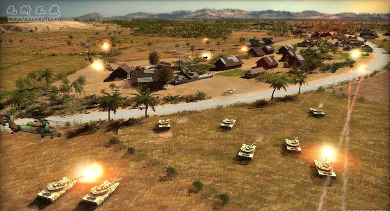 《战争游戏:红龙》免安装中文硬盘版下载 [即时战略]