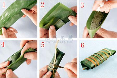 快速掌握各种包粽子的方法(吃货必备之绝技)