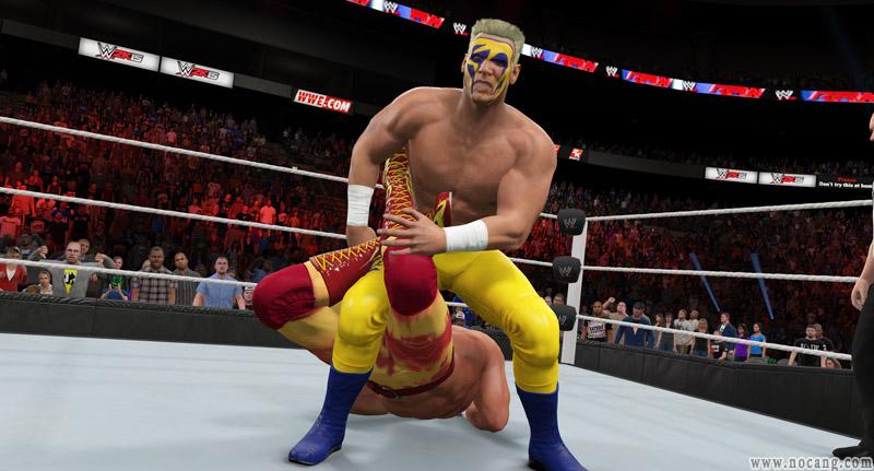《美国职业摔角联盟2K15》PC版免安装英文硬盘版下载(WWE 2K15)