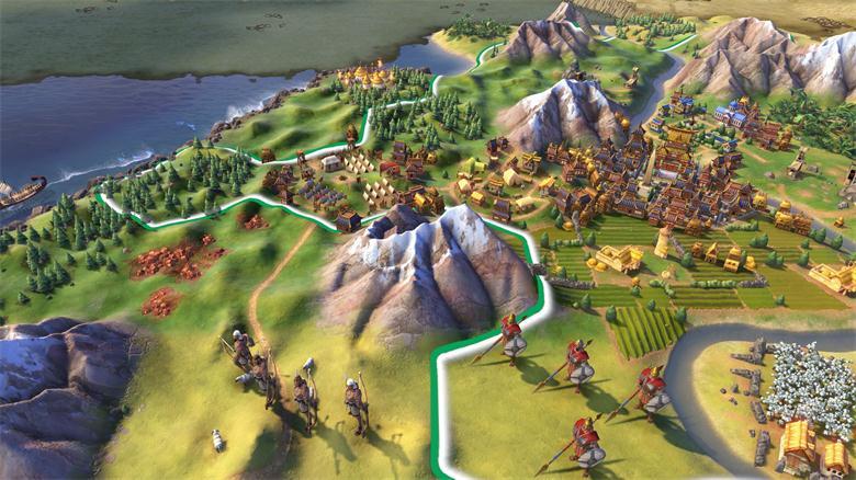 《文明6》免安装简体中文绿色硬盘版下载